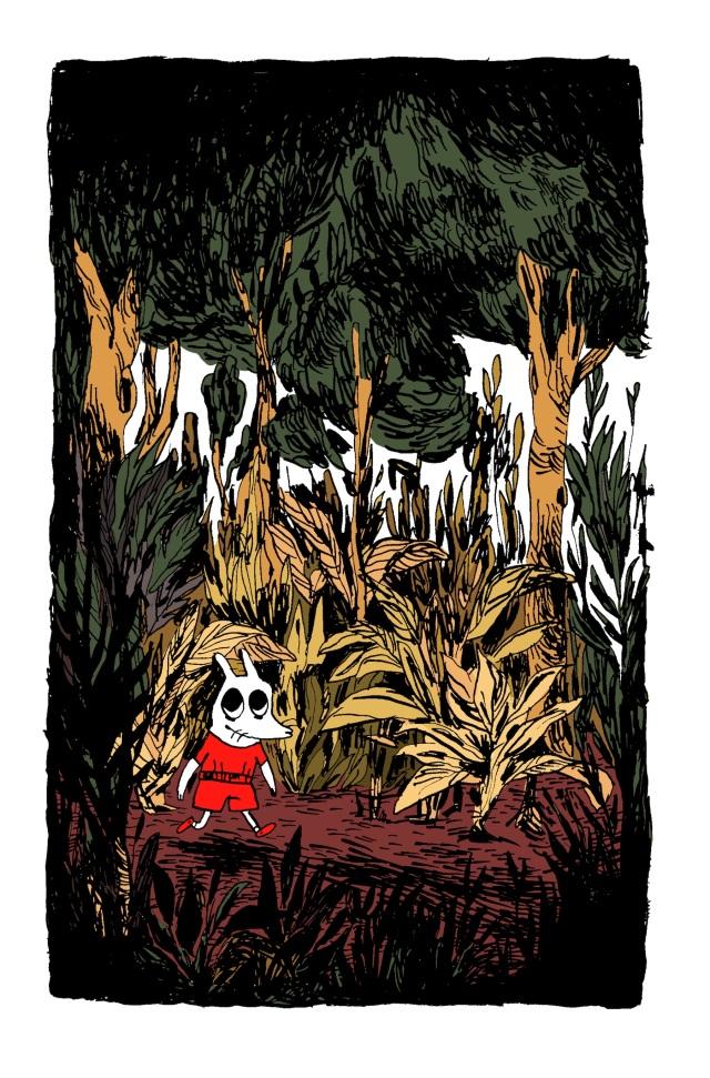 foisonne forêt